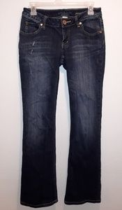 Arizona Jeans Favorite Bootcut Dark Denim Size 5